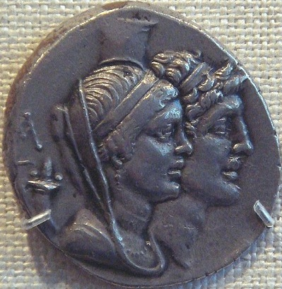 Cleopatra Thea and Alexander I Balas, ca. 150-146 B.C.E,       The Metropolitan Museum of Art, New York, NY   (Photo: PHGCOM, Wikipedia)