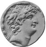 Antiochus VIII Grypus, Seleucid King, reigned 125-96 B.C.E.,     The British Museum, London