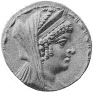 Cleopatra Thea, Seleucid ruler of Syria , reigned 125-121 B.C.E.,    The British Museum, London