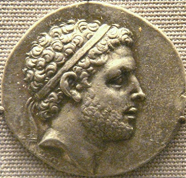Perseus of Macedon, last Antigonid ruler, reigned ca. 179-166 B.C.E,     The British Museum, London     (photo:PHGCOM, Wikipedia)