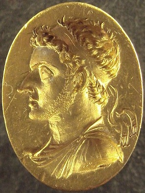 Ptolemy VI Philometor, King of Egypt, reigned ca. 180-145 B.C.E.,    Musée du Louvre, Paris  (Photo: PHGCOM, 2009,  Wikipedia)