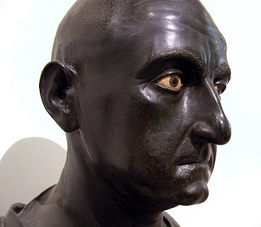 Scipio Africanus, Roman General 236-183 B.C.E., found at Herculanum,  Museo Archeologico Nazionale di Napoli    (Photo: Massimo Finizio, Wikipedia)