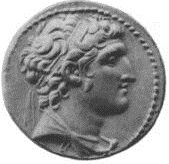 Alexander I Balas, Seleucid King, reigned ca. 150-146 B.C.E.,         The British Museum, London