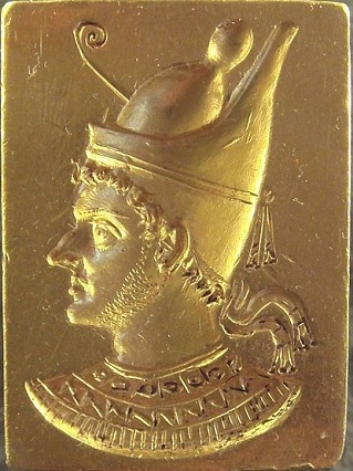 Ptolemy VI Philometor, King of Egypt, reigned ca. 180-145 B.C.E.,    Musée du Louvre, Paris,  Bj 1092 (Photo: PHGCOM, 2009,  Wikipedia)