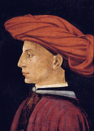 A Young Man, ca. 1426-1427 attributed to Masaccio, 1401-1428 Isabella Stewart Gardner Museum, Boston