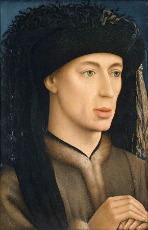 A Young Man, ca. 1430-1450 (attributed to Rogier van der Weyden) (ca. 1499-1464) Location TBD