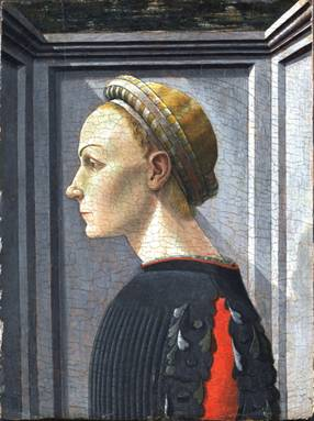 A Woman, possibly 1430's attributed to Paolo Uccello, 1397-1475 Metropolitan Museum of Art, NYC 32.100.98