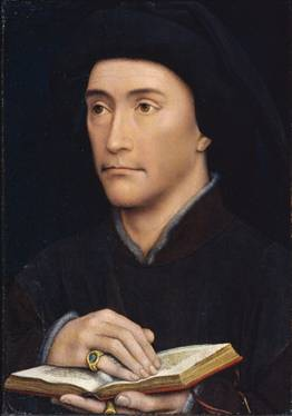 A Man, possibly Guillaume Fillastre, ca. 1437
