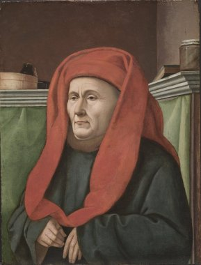 A Man,  ca. 1450 (Unknown Artist of the Provençal School) Cleveland Museum of Art, OH    1916:811