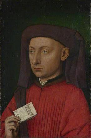 Marco Barbarigo, ca. 1449-1450 (Unknown Artist, follower of Jan van Eyck)  The National Gallery, London,   NG696