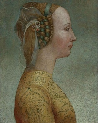 A Florentine Woman, 1467 (Unknown Artist) Sotheby's Sale N08645