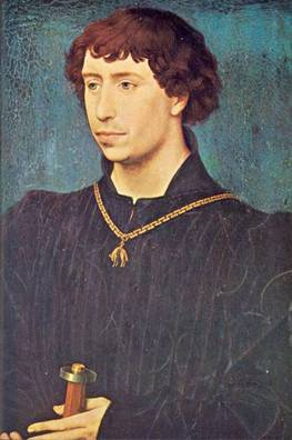 Charles the Bold, ca. 1460 (Roger van der Weyden) (1399-1464) Location TBD