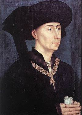 Philip III Duke of Burgundy, ca. 1460 (Roger van der Weyden) (1399-1464) Location TBD