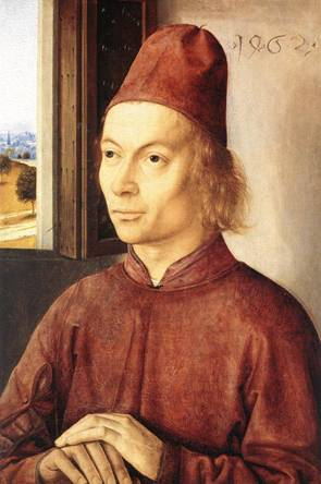 A Man, 1462 (Dieric Bouts the Elder) (1410-1475) National Gallery, London