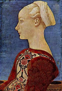 Woman ca. 1465 (Antonio Pollaiuolo) (1429-1498) Location TBD