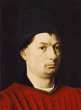 Man (Petrus Christus) (1410-1476) Los Angeles County Museum of Ar