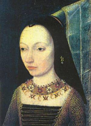 Margaret of York, ca. 1467 (Unknown Artist) Musée du Louvre, Paris