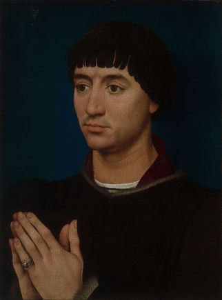 Jean Gros, ca. 1460-1464 by Rogier van der Weyden, 1399-1464 Art Institute of Chicago, 1933.1051a