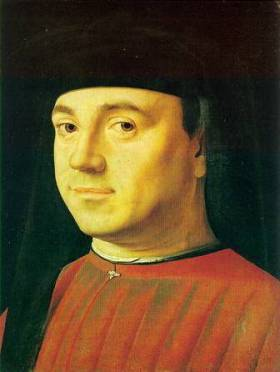 A Man, ca. 1475 (Antonello da Messina) (1430-1479) Galleria Borghese, Roma