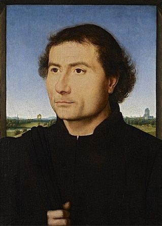 A Man, ca. 1470 (Hans Memling) (ca. 1433-1494)  The Frick Collection, New York, NY, 1968.1.69