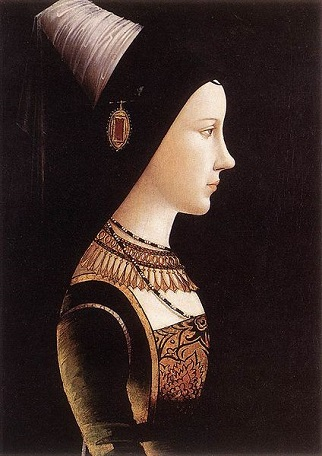 Mary of Burgundy, ca. 1475 (attributed to Michael Pacher) (1430-1498)  Heinz Kisters Collection, Kreuzlingen, Thurgau