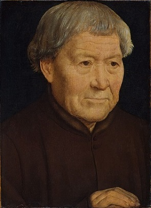 An Old Man, ca. 1475 (Hans Memling) (ca. 1433-1494)  The Metropolitan Museum of Art, New York, NY,  14.40.648