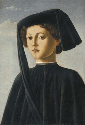 A Boy, ca. 1475 (Francesco Botticini) (1446-1497)   Christies Auction House