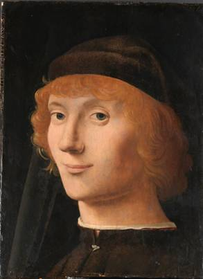A Young Man ca. 1470 (Antonello da Messina) (1430-1479)    The Metropolitan Museum of Art, New York, NY      14.40.645