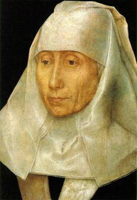 An Old Woman, ca. 1468-1470 (Hans Memling) (1433-1494) Museum of Fine Arts, Houston, TX,  44.530W
