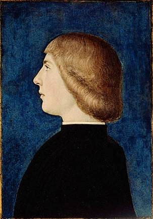 A Young Man, ca. 1475 (Unknown Ferrarese Artist) J. Paul Getty Museum, Los Angeles, CA, 85.PB.233
