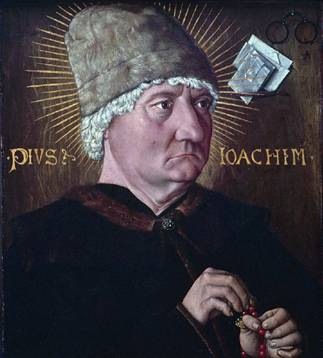 Pius Joachim, ca. 1475  (Unknown Bavarian Master) Kinstmuseum Basel Inv. 469