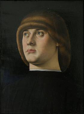 A Young Venetian Man, ca. 1475-1476 (Jacometto) (fl. 1472-1498)     The Metropolitan Museum of Art, New York, NY 49.7.3