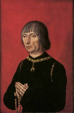 Louis of Gruuthuse, ca. 1472-1482 (Unknown Flemish Artist) Groeninge Museum, Bruges