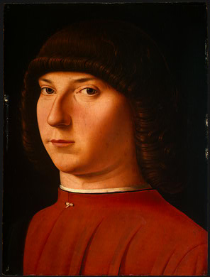 A Young Man, ca. 1475-1480 (Antonello da Messina)(1430-1479) National Gallery of Art, Washington, D.C.,  1937.1.31