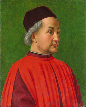 A Florentine Man, ca. 1477-1478 (Domenico Ghirlandaio) (1448-1494)   The Metropolitan Museum of Art, New York, NY     32.100.67
