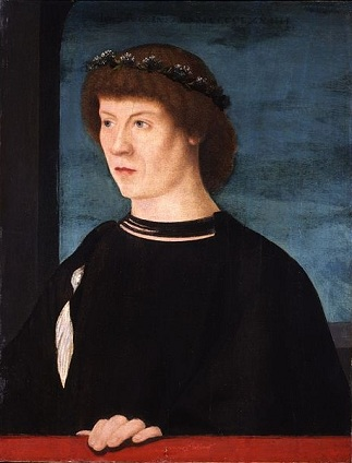 Joerg Fugger, ca. 1474 (Giovanni Bellini) (1430-1516)    Private Collection, MilanoMilano