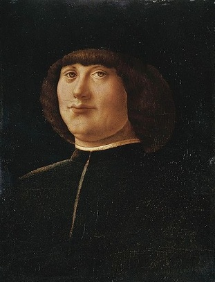 A Man, ca. 1475 (Alvise Vivarini) (1444-1505)   Location TBD
