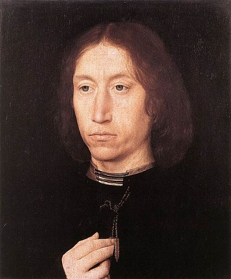 A Man, ca. 1478  (Hans Memling) (1433-1494)     The Royal Collection, Windsor