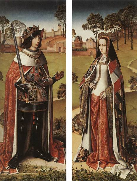 Philip the Fair and Juana the Mad  (Master of the Joseph Legend)Koninklijke Musea voor Schone Kunsten van België