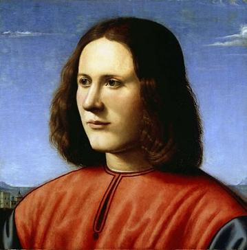 A Young Man, ca. 1500 (Piero di Cosimo) (1462-1521) Dulwich Picture Gallery, London, 258