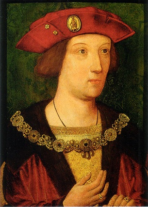 Arthur, Prince of Wales, ca. 1500 (Unknown Artist)    Royal Collection, UK
