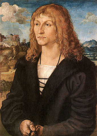 Beardless young man ca. 1500 attributed to Lucas Cranach the Younger 1472-1553 Hessische Hausstifung