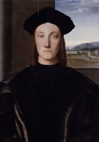 Guidobaldo Montefeltro, ca. 1504 by Raphael, 1483-1520 Location TBD