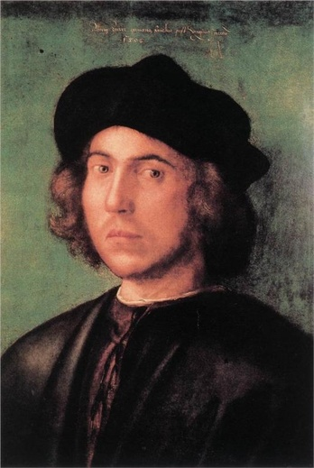 Young Man 1506  by Durer