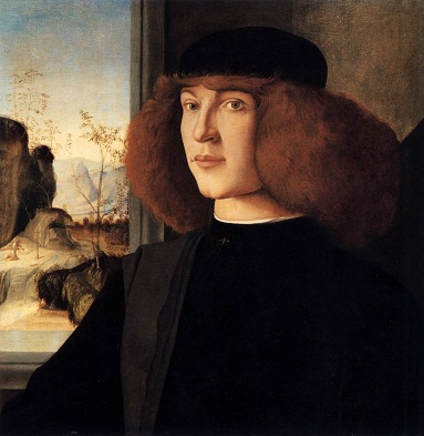 A Young Man, ca. 1500 (attributed to Marco Palmezzano) (ca. 1456-1539) Location TBD