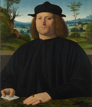 Giovanni Cristoforo Longoni, 1505 (Andrea Solario) (ca. 1460-1524) The National Gallery, London, NG734