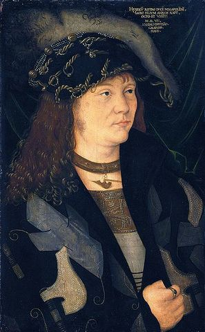 Heinrich Graff von Mecklenburg, 1507 attributed to Jacopo de Barbari, ca. 1440-1515 Mauritshuis, Den Haag, 898