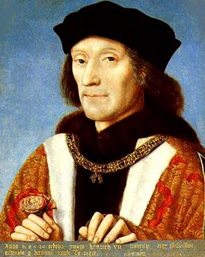 Henry VII, ca. 1500 (Michel Sittow) (1469-1526) Location TBD