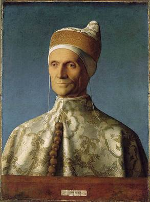 Doge Leonardo Loredan, ca. 1503 (Giovanni Bellini) (1430-1516) National Gallery, London