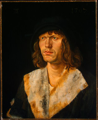 A Man, ca. 1507 (Hans Leonard Schaufelein) (1480-1540) National Gallery of Art, Washington, D.C. 1937.1.66